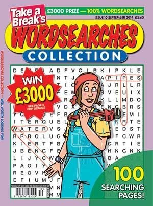 Take a Break's Wordsearches Collection Magazine