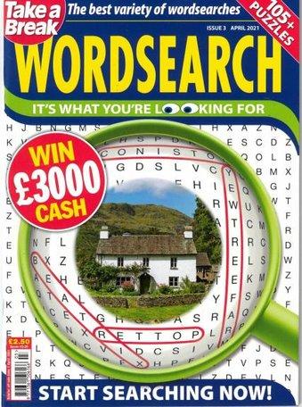 Take a Break's Wordsearch Magazine